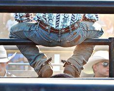 Cowboy butts....... :)