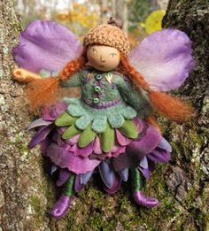 Felt Fairy from Sally Mavor
