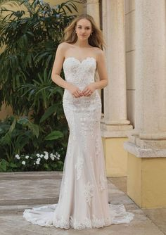 571c9361418 Sincerity Bridal - Style Beaded Lace Gown with Pop-In Off the Shoulder  Jacket - wear without for a strapless sweatheart neckline!