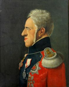 Portrait of King Frederick the VI of Denmark 1768-1839 | Artware Fine Art