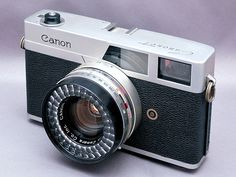 A Brief History of the Canon Canonet Rangefinder
