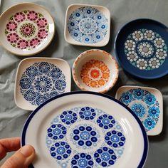 Small Gifts, Decorative Plates, Tableware, Kitchen, Mandala, Design, Van, Home Decor, Tattoos