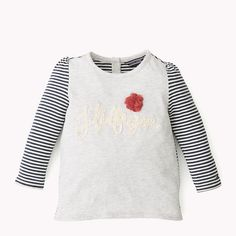 T-shirt de algodão Tommy Hilfiger Organic - luz urze cinza (Grey) - T-shirt Tommy Hilfiger - imagem principal