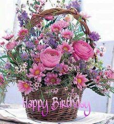 Cheer Up Flower Basket: Flower Bouquets - A heartwarming bouquet to show you care. Beautiful Flower Arrangements, Silk Flowers, Spring Flowers, Floral Arrangements, Beautiful Flowers, Basket Of Flowers, Purple Flowers, Spring Bouquet, Pretty Roses