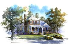 18 Small House Plans: Topwater Lodge, Plan #1385
