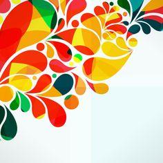 Fondo de carnaval abstracto en vector e imagen normal.  Abstract background Carnival
