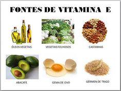 cabelos com vitamina E