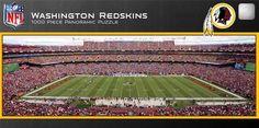 NEW Jigsaw Puzzle 1000 Piece NFL WASHINGTON REDSKINS Football Stadium Sports #MasterPieces