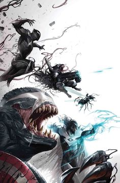 VENOMVERSE: WAR STORIES #1 CULLEN BUNN, DECLAN SHALVEY, MAGDALENE VISAGGIO AND MORE! (w) ANNAPAOLA MARTELLO, DECLAN SHALVEY, TANA FORD AND MORE! (a/C) Cover by FRANCESCO MATTINA VARIANT COVER BY RON LIM