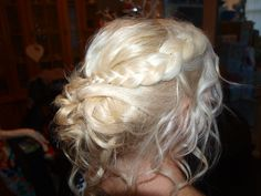 Christmas party hair or Bride/Bridesmaids Hairstyle