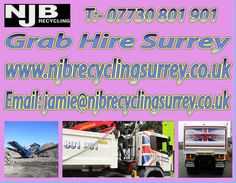 For more detail once visit at:  http://www.njbrecyclingsurrey.co.uk/grab_hire_surrey.html