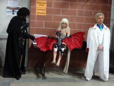 Jon Snow and Daenerys Targaryen #cosplay from Mantova #comics fair