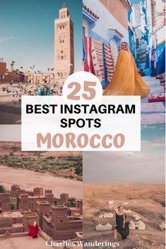 The Most Instagrammable places in Morocco, Best Instagram spots in morocco, best photography spots in Morocco, unique places to visit in Morocco, special things to do in Morocco, Unique Instagram spots in Morocco,  Where to take photos in Morocco
