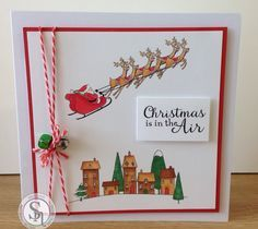 Card made using the Nordic Christmas Collection from Crafter's Companion. #crafterscompanion