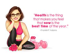 Health is the thing that makes you feel like now is the best time of the year. Couldn't agree more!!