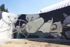 Ericailcane – New Mural at ENAP in Mexico