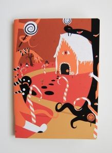 Hanzel and Gretel note book by @thamagicjar