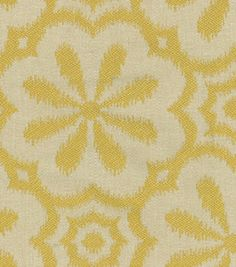 Home Decor 8''x 8'' Fabric Swatch-HGTV HOME Mod Metal Gold