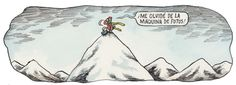 liniers amor - Pesquisa Google Rock Climbing, Illustration, Tapestry, Humor, Nature, Home Decor, Grande, Outdoors, Smile
