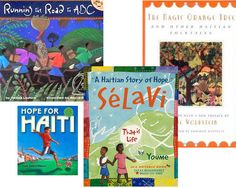 A collection of books about Haiti for kids!