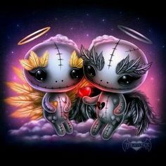 Voodoo Doll Tattoo, Voodoo Dolls, Emo Art, Goth Art, Creepy Art, Creepy Dolls, Arte Horror, Horror Art, Gothic Fantasy Art