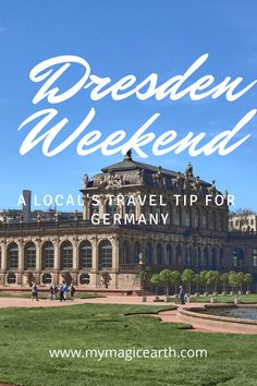 Dresden is a city with rich culture and history. I have spent four days in Dresden and explored castles, nature sites, and the best German craftsmanship, the famous Meissen porcelain. # #Dresden # #tour #europe #dresdenitinerary #Dresdengateway #itinerary #Germany #daytrips #traveltips #weekendtrip #德国 #Deutschland #roadtrip #thingstodo #familywithkids #familytravel #germanylocaltip #localtip European Travel Tips, Europe Travel Guide, Travel Guides, European Trips, Travelling Europe, Europe Destinations, Amazing Destinations, Frankfurt, Berlin