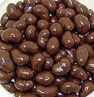 4/21/2013: Chocolate Covered Cashew Day! Roasted cashews coated in rich milk chocolate! And it gets even better…Cashews are rich in all kinds of things that are good for you so they are a treat you can eat without guilt.