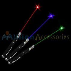 MillionAccessories 3pcs Combo Military Laser Pointer Pen Green Blue/violet Red 5mw High Power by MillionAccessories, http://www.amazon.com/dp/B008LIIDP2/ref=cm_sw_r_pi_dp_NVsLrb1BR75GT