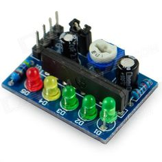 KA2284 Power Level Indicator Module - Blue (3.5~12V). Brand N/A Model KA2284 Quantity 1 Color Blue Material PCB + plastic + iron Features Chipset: KA2284; Voltage: 3.5V~12V Specification Adjustable span of power level; AC and DC signals can be controlled by jumper Application For DIY project English Manual/Spec Have Packing List 1 x KA2284 power level indicator module Datasheet: m5.img.dxcdn.com/CDDriver/CD/sku.213906.rar. Tags: #Electrical #Tools #Arduino #SCM #Supplies #Power