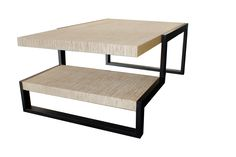 MK Design two layer coffee table
