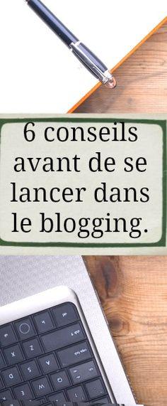 Voici un article intéressant en rapport avec le blogging comme l'indique le titre. Mes conseils ne sont pas les meilleures puisque je n'ai pas assez de recul sur le sujet avec un blog de quatre mois. Donc je vais faire avec mon peu de recul.