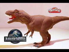 JURASSIC PARK- T.Rex estatua en Arcilla Polimérica Sculpey -Pagkt0JorgeArmas- ABR2013 - YouTube