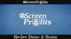 Screen Profits Review Demo Bonus - Super Simple Screen Capture Tricks