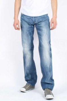 Diesel - Mens Larkee 0888B Denim Jeans