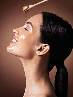My momma does this : To tighten, soften and moisturize the skin, mix 1 piece of orange peel plus one tablespoon of honey in a blender until smooth. Gently rub the mixture of honey had to face and leave for 15 minutes. Then wash your face with warm water to clean the mixture!   Enjoy!