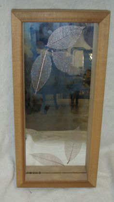 Small Leaf Rectangle Mirror (throne room)