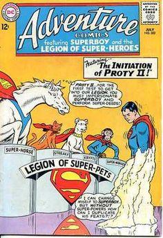 Adventure Comics 322 DC 1964 Superboy The Legion of Super Pets Krypto   eBay