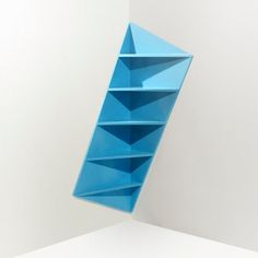 Trieta Corner Shelf by Marc Kandalaft I probly like it cause it is whacky!