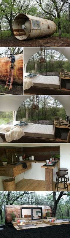 Container House - An old storage tank, transformed into a livable space Who Else Wants Simple Step-By-Step Plans To Design And Build A Container Home From Scratch?