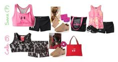 """""""Dance, Soccer and Gymnastics 7/31"""" by graywolf145 ❤ liked on Polyvore featuring Under Armour, Puma, Capezio, Capezio Dance, Bonpoint and NIKE"""