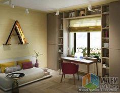 Интерьер детской комнаты для девочки, варианты стилей детской комнаты