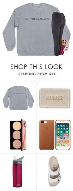 """~meow~"" by mac-moses ❤ liked on Polyvore featuring Kiehl's, Smashbox, CamelBak and Birkenstock"