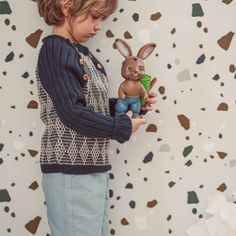 Vintage style inspired jumper handknitted of Van Beren Organic Cotton Yarn for baby boys and toddler in two colour diamond pattern. Cotton Plant, Organic Cotton Yarn, Natural Clothing, Diamond Pattern, Colored Diamonds, Graham, Hand Knitting, Knits, Jumper
