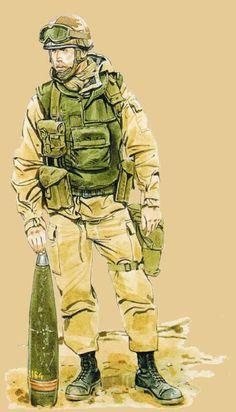 1st Gulf War, French Legionares