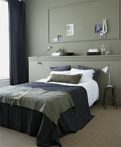 Achterwand #slaapkamer