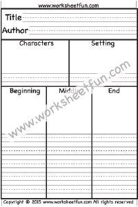 Book Report – 15 Worksheets