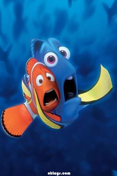 Nemo and Dori Jessie Toy Story, Toy Story 3, Disney Pixar, Disney Animation, Walt Disney, Disney Cars, Nemo Wallpaper, Disney Wallpaper, Iphone Wallpaper