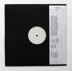 """womenofgraphicdesign: """" Eva Rittmeyer & Xavier Robel Norbert Möslang, killer_kipper (cave 12). Black vinyl 12"""" """""""
