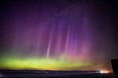 Auroras boreales desde el estado de Washington, Estados Unidos – El Universo Hoy