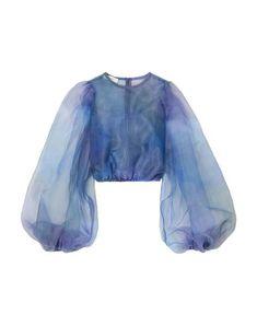 Jennifer Fisher, Blouse Styles, Blouse Designs, Bustier, Blue Blouse, Mannequins, Alexander Mcqueen, Madrid, Ideias Fashion